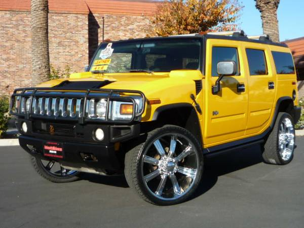 2003 HUMMER H2 4x4 Premium Wheels 26 LEATHER 1.99 RATE O.A.C - $19500 (SAN BERNARDINO)