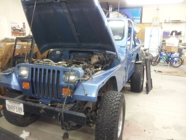 1988 jeep yj wrangler lots of parts also. - $3200 (kingman)