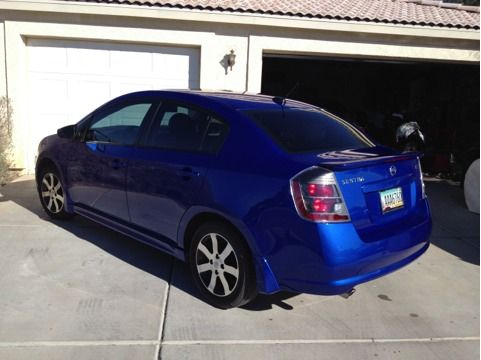 2012 Nissan Sentra SL Special Edition - $17500 (Mohave Valley)