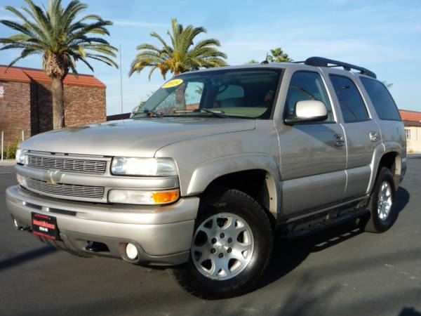 2005 Chevrolet TAHOE z71 4X4 Third Row Seat NAVIGATION 1.99RATE O.A.C - $12999 (SAN BERNARDINO)
