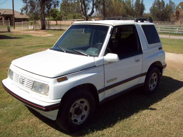 1990 Geo Tracker - $4400 (Mohave Vy.)