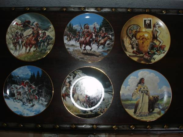 Southwest Native American Collector Plates - $90 (Lake Havasu City)