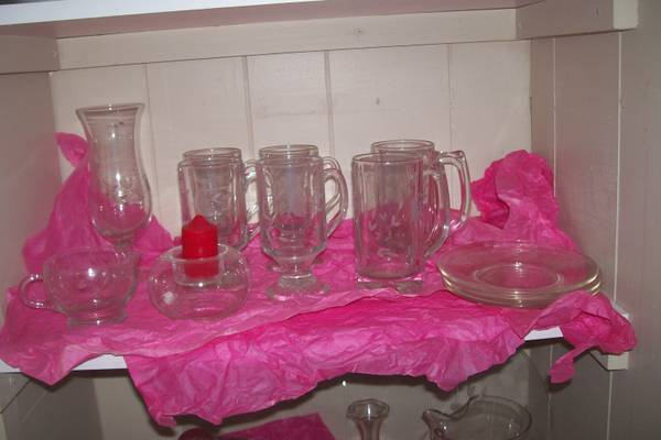 Princess House Heritage Lot Pitcher Cake Plate More - $75 (Bullhead City)