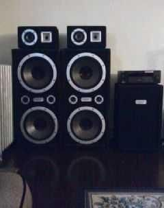 2 PRO STUDIO INDUSTRIAL SOUND PRESSURE SYSTEM SPEAKERS - $350 (Bullead City)