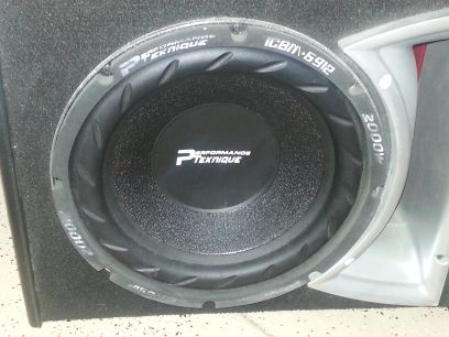 12 inch sub in rockford fosgate box - $100 (kingman)