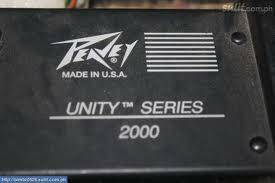 Peavey Unity Series 2000 12 Channel Mixer - $150 (Laughlin, NV)