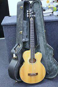 Epiphone El Capitan 5 string acoustic electric bass - $400 (LHC)
