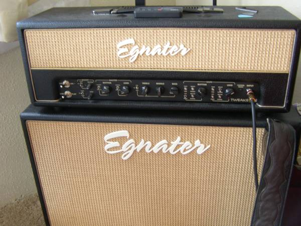 Egnater Tweaker 88 Head and 2x12 Cab - $760 (Kingman)