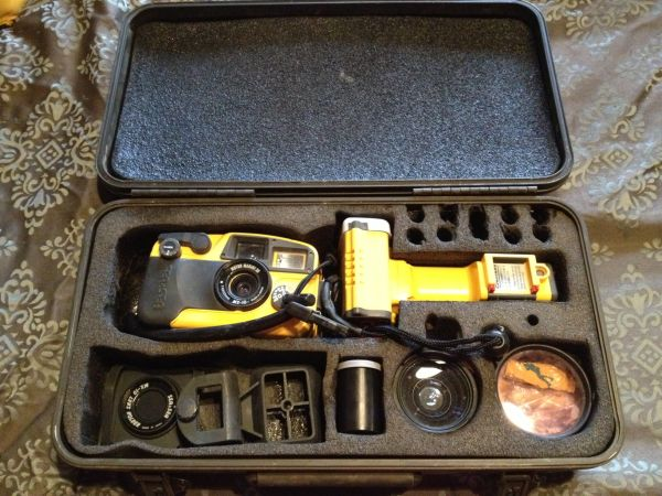 dive camera by sea sea with strobe - $250 (lake havasu city)
