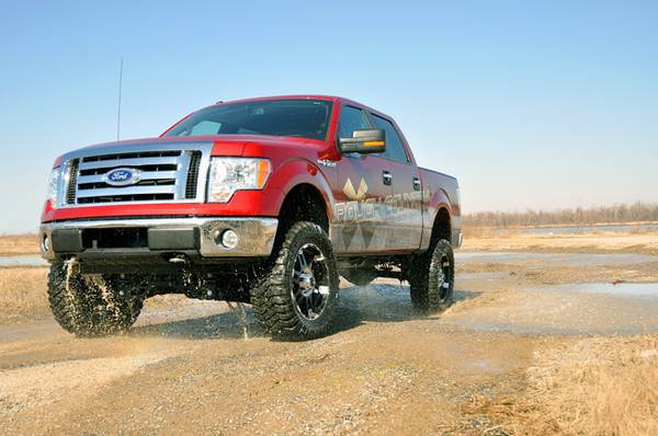 2005-2012 FORD F150 4X4 6 LIFT KIT SPECIAL - $1900 INSTALLED (Orange)
