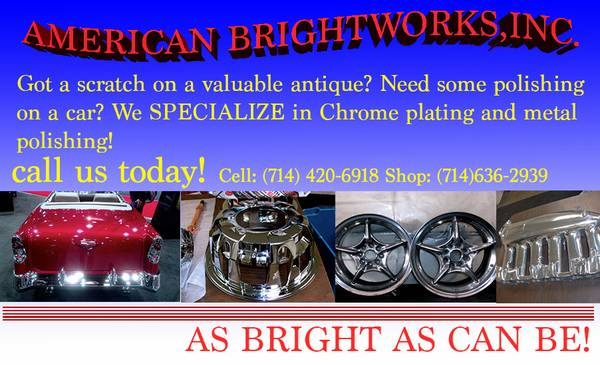 Polish your metals and make them BRAND NEW AGAIN (Garden Grove)