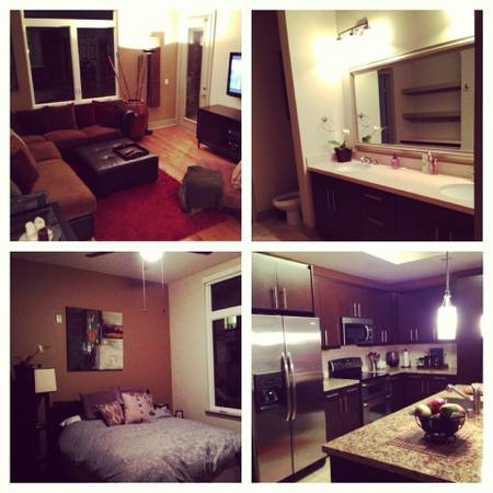 - $1100 2br - 1300ftsup2 - Summer Sublet Room or Full Apt. Furnished At Luxury 1818 PT. (Anaheim, CA)
