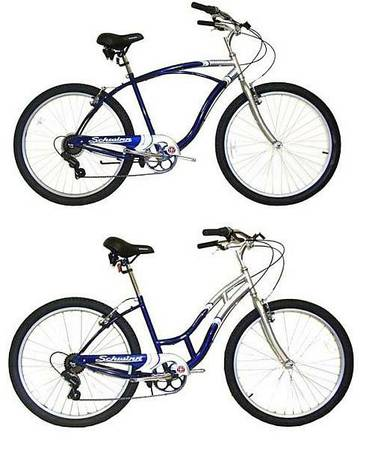 2 Match able Schwinn JAGUAR Mens Womens Cruiser 26 Bike - $1500 (Anaheim)