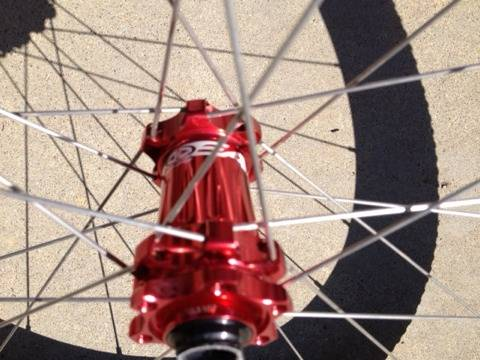 Easton 29 EA90XC Wheelset with Tires and Easton Skewers. - $549 (Orange)