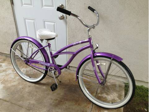 span classstarspan Micargi 26 inch womens beach cruiser - $125 (Huntington Beach)