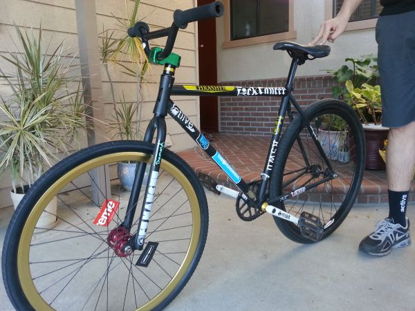 VOLUME THRASHER FGFS CUSTOM FIXIE - $600 (Fullerton)