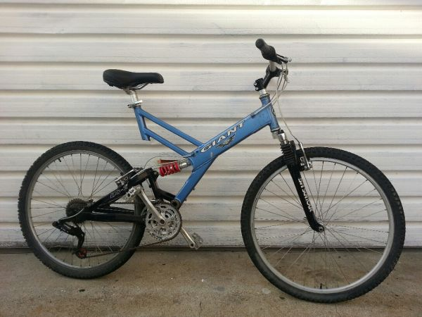 Giant Warp DS-2 Full Suspension MTB Lrg - $175 (San Clemente)