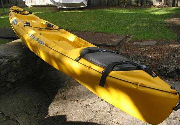 Ocean Tandem Kayak - Cabo wlarge hatch, take 2 or 3 friends - $695 (OC)