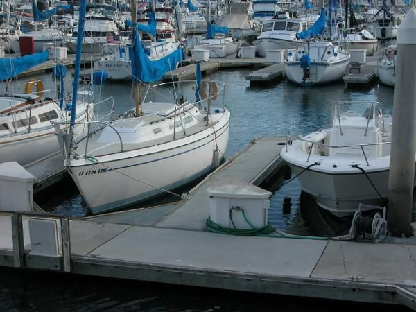 1976 ODAY 25 SAILBOAT - PRICE REDUCED - $2900 (DANA POINT)
