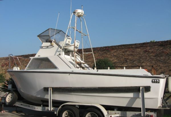 25 Tuna Fishing Boat _ Long Range _ Turbo Diesel _ Trade for Car - $7900 (Orange)