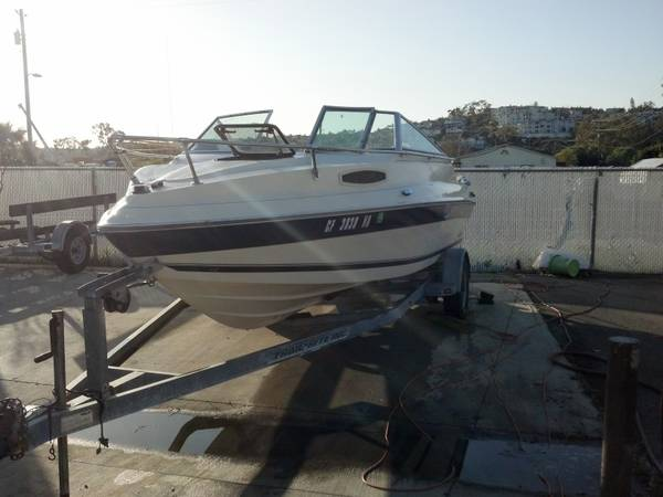 1991 Seaswirl Sierra Cuddy 190 - $1800 (Dana Point)