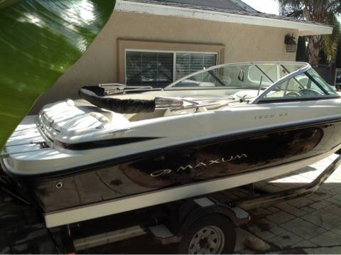 2007 Maxum 1800 MX Runabout Boat in Excellent Condition - $14500 (West San Fernando Valley)