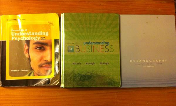 Used OCC Textbooks - $30 (Fountain Valley)