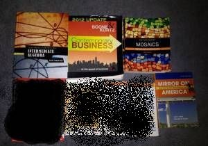 GWC, OCC, CCC, COLLEGE TEXTBOOKS FAIR PRICES IN VERY GOOD CONDITION - $1 (Garden Grove)