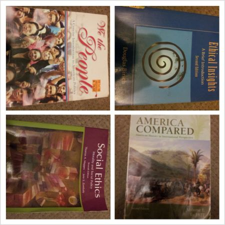 occ textbooks - $1 (Santa Ana)