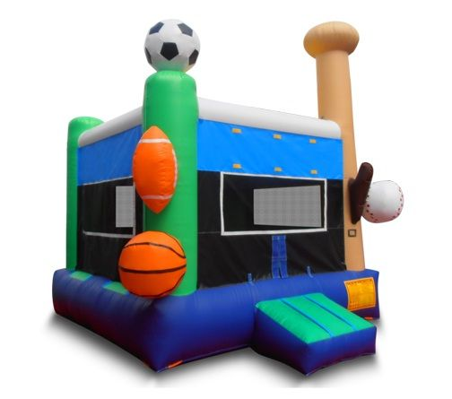 2 NEW COMMERCIAL GRADE BOUNCE HOUSES FOR SALE (OC)