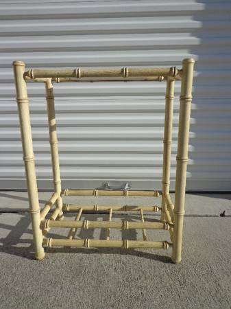 Cute Chinoiserie Style Bamboo Stand (South Co.)