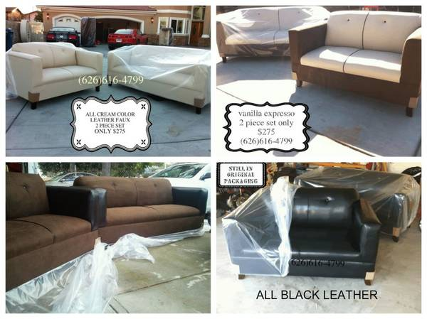 Great Deal Microfiber Sofa Set...- $275 (I DELIVER)