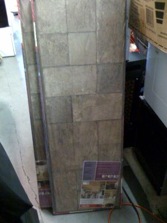 Dupont Laminate Flooring - Tuscan Stone Sand - $25 (Orange)