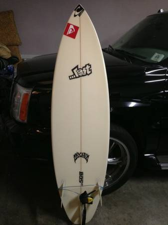 60 Lost Speed Demon II surfboard - $280 (Aliso Viejo)