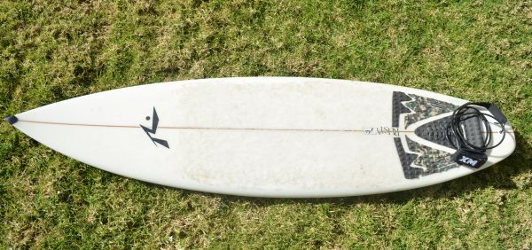 -------------RUSTY 64 SURFBOARD GREAT CONDITION with NEW TRAVEL BAG-- - $1 (Los angeles)