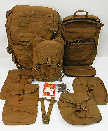 NEW USMC PACK SYSTEM FILBE COYOTE EAGLE INDUSTRIES PACK COYOTE - $270 (HUNTINGTON BEACH)