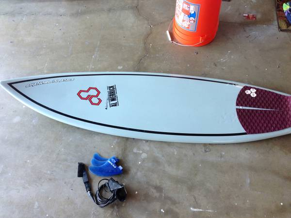 Good Condition Channel Islands Surfboard ByAl Merrick Flyer Epoxy 510 - $349 (Huntington Beach)