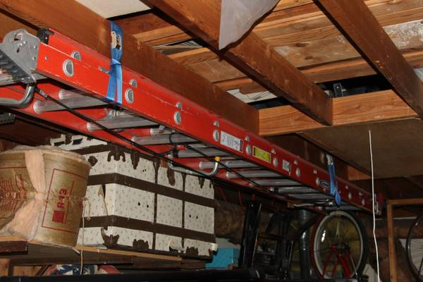 Werner Fiberglass 24 ft. Extension Ladder - $195 (Brea)