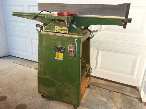 6 Jointer Central Machinery Works Great - $100 (Irvine)