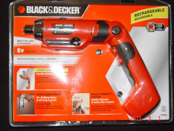 Brand New in the box Black Decker Drill-Driver WBuilt in Light. - $15 (Huntington Beach)