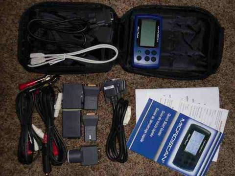 Bluepoint pro microscan obd2 and obd1 scanner - $400 (OC )