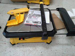 QEP 650XT 7 In., 34 HP 120-Volt Tile Saw for Wet Cutting of Ceramic - $50 (santa ana)