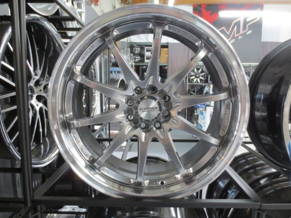 4- Kyowa Racing wheel in Hyper Black 4x100 4x108 - $400 (Anaheim )