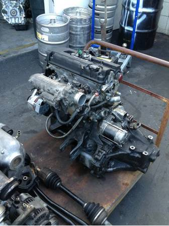 B20 vtec long lock low miles and gsr transmission - $1 (Mission Viejo )