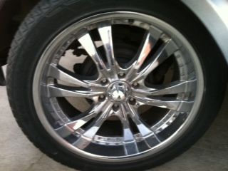 22 Inch wheels tires. 6 lug - (( SET OF 4 )) CHEVY, NISSAN, TAHOE - $400 (Santa Ana )