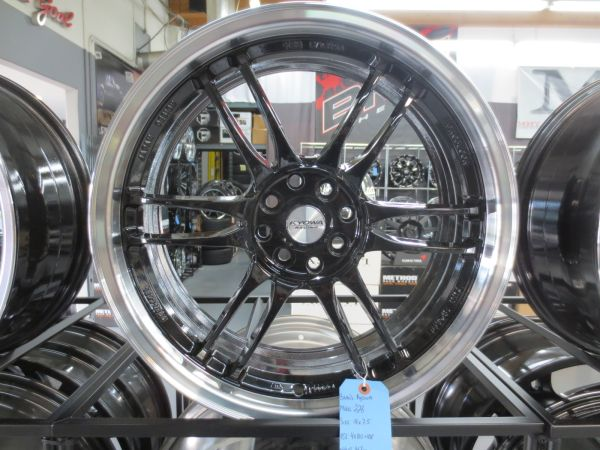 4-18 Blackmach Racing Wheels by Kyowa Honda Toyota Nissan Scion - $400 (Anaheim )
