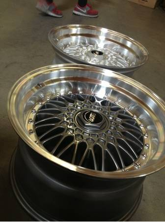 BBS RS 15 17 18 inch - $450 (Oc)
