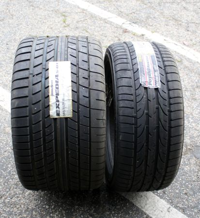 SET OF FOUR BRIDGESTONE TIRES - Brand NEW