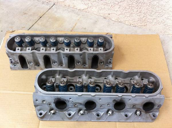 Chevy GM 5.7L LS1 853 241 Heads wLS6 Beehive Valve Train