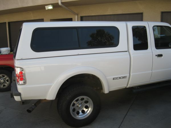 slightly used ford truck bed cover that fit 02 ford ranger edge $799 - $799 (huntington beach warner and bolsa chica)